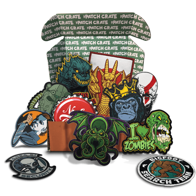 Overflowing Patch Crate
